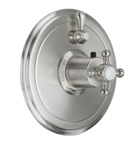California Faucets To Th1l 60 Del Mar Styletherm Valve With Volume Control Qualitybath Com