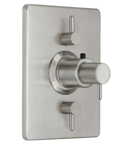 California Faucets TO-THC2L-62 Avalon Styletherm Valve With Dual ...