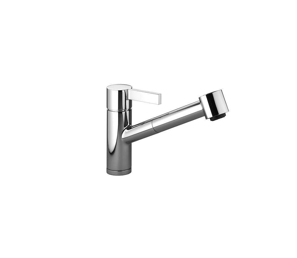 Dornbracht 33870760 Eno Single-lever Mixer With Pull-out Spray Set ...