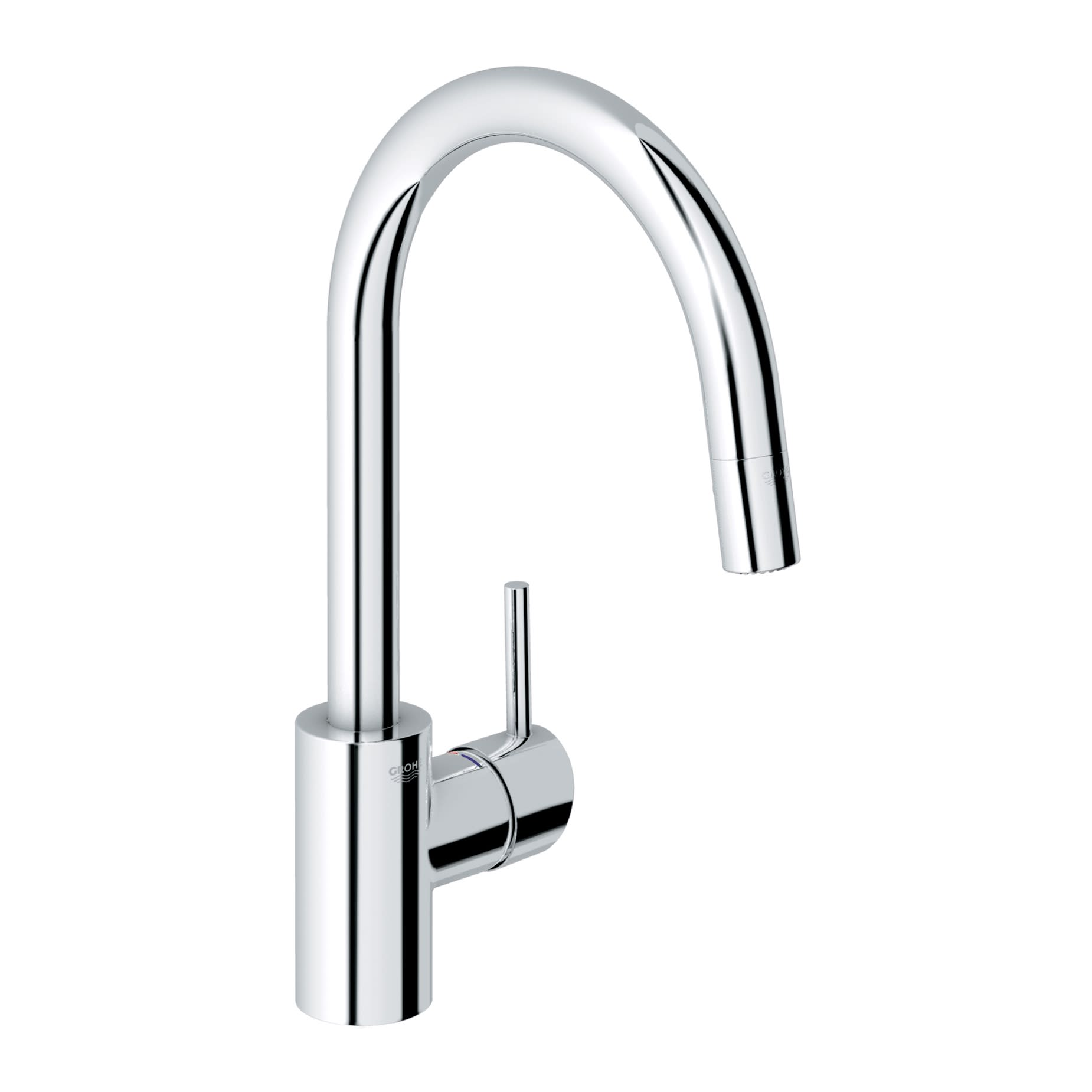 Grohe 32665 Concetto Dual Spray Pull Down Kitchen Faucet ...