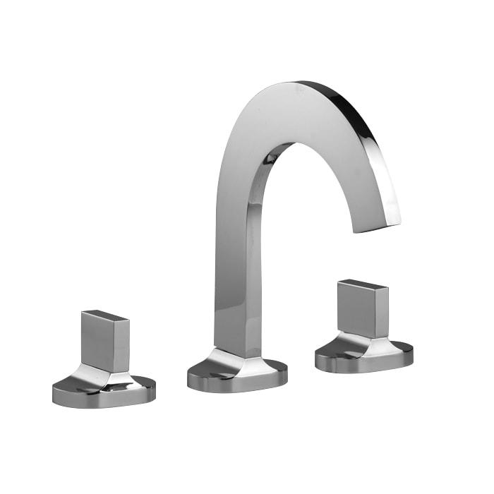 Aquabrass 39516 Cut Widespread Faucet | QualityBath.com