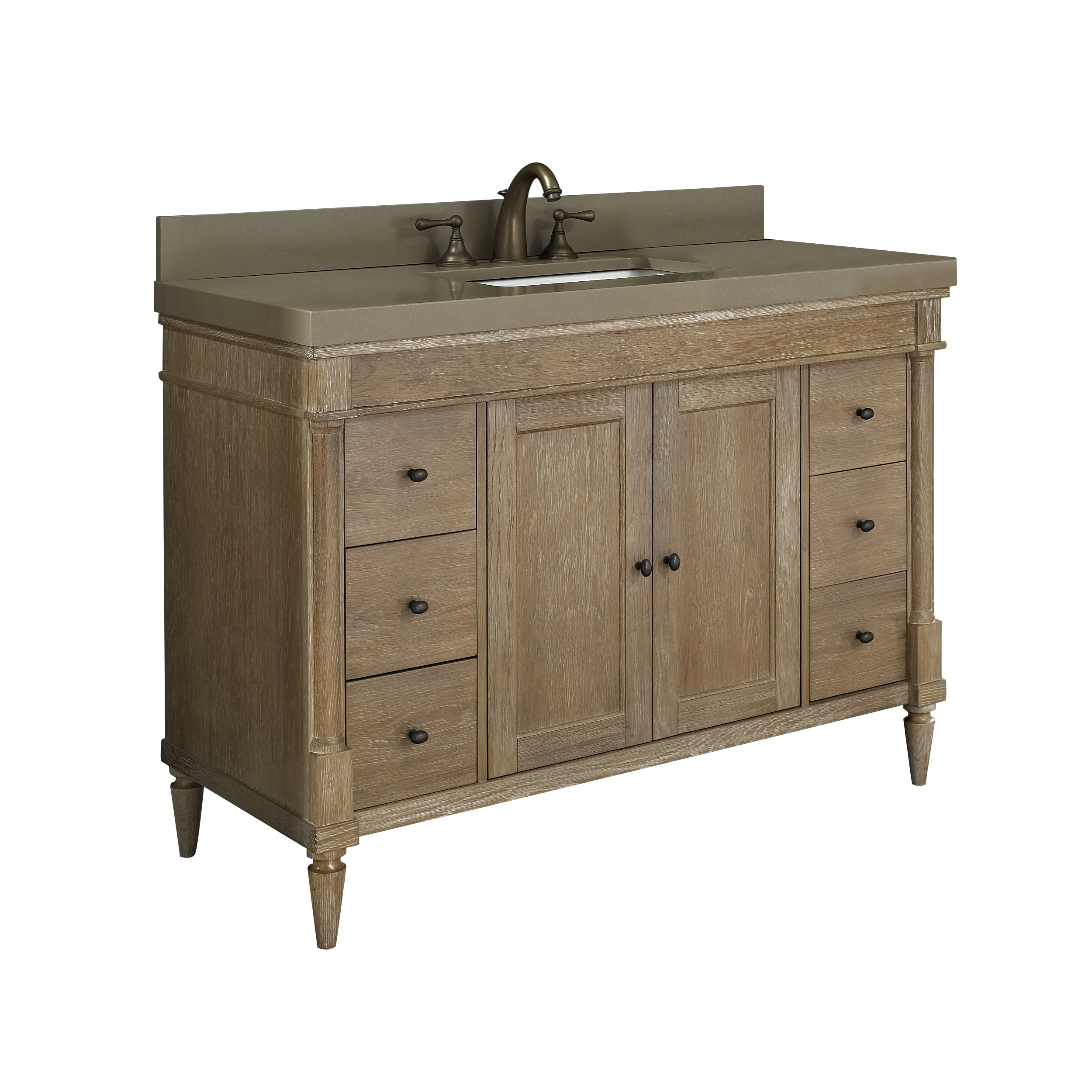 Fairmont Designs. Rustic Chic Bathroom Vanity
