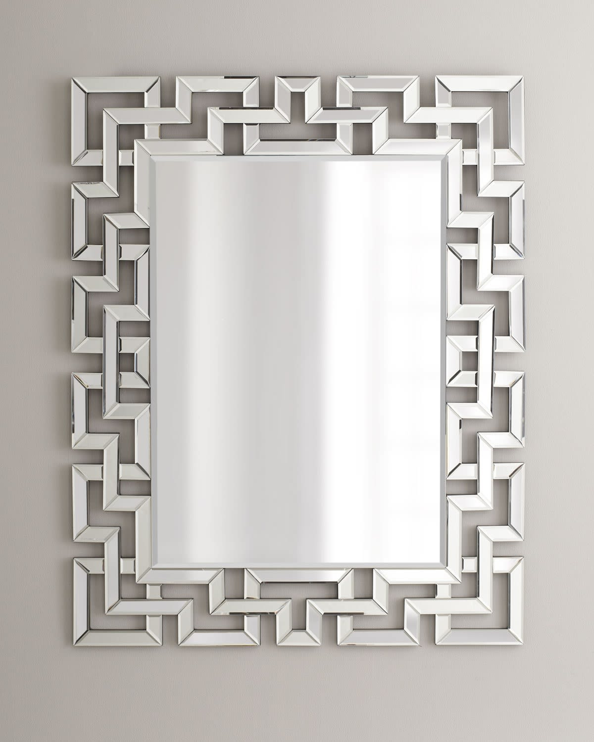 Afina Ml 3242 R Modern Luxe Contemporary Openwork Decorative Wall Mirror