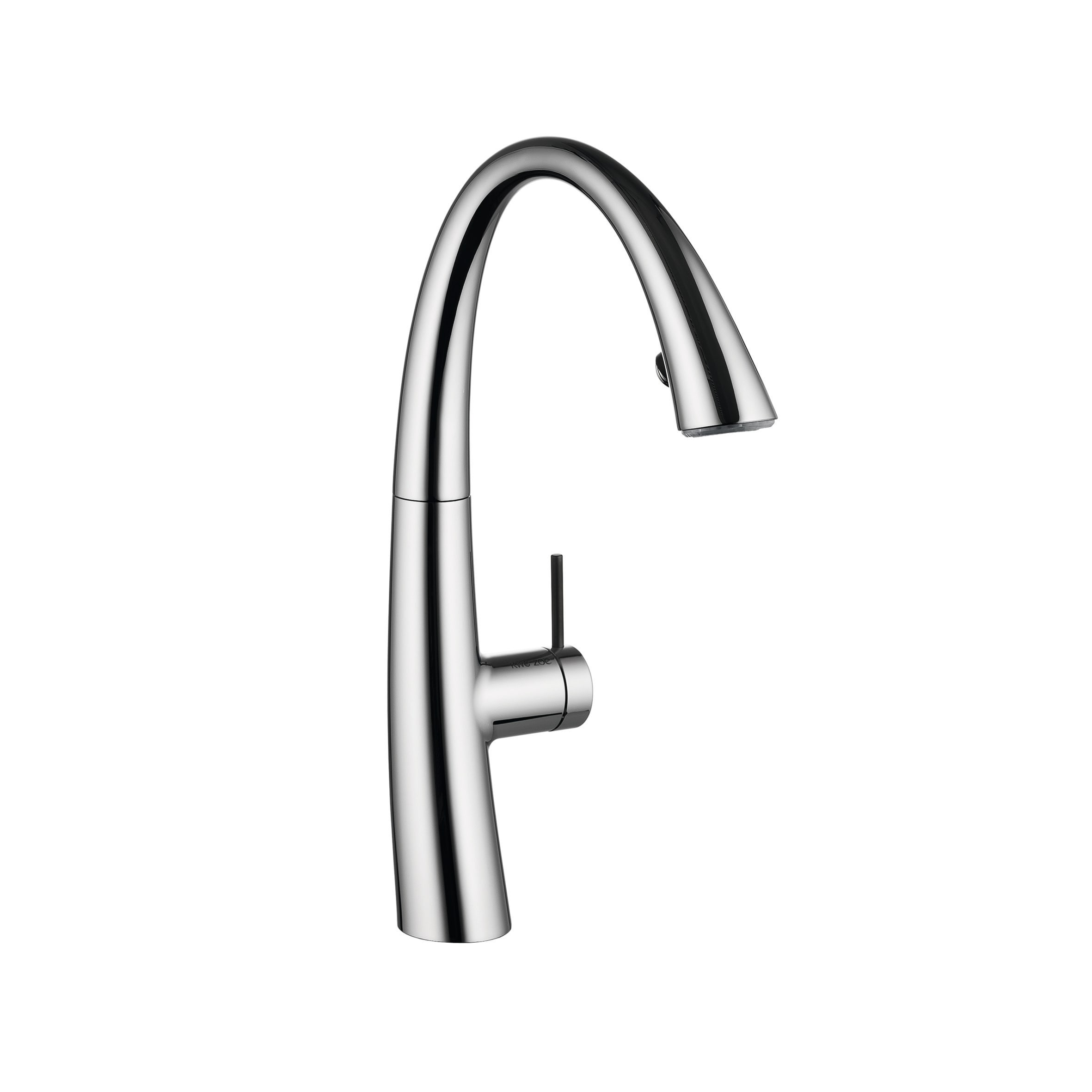 Kwc 10 201 122 Zoe Single Lever Kitchen Faucet With Light