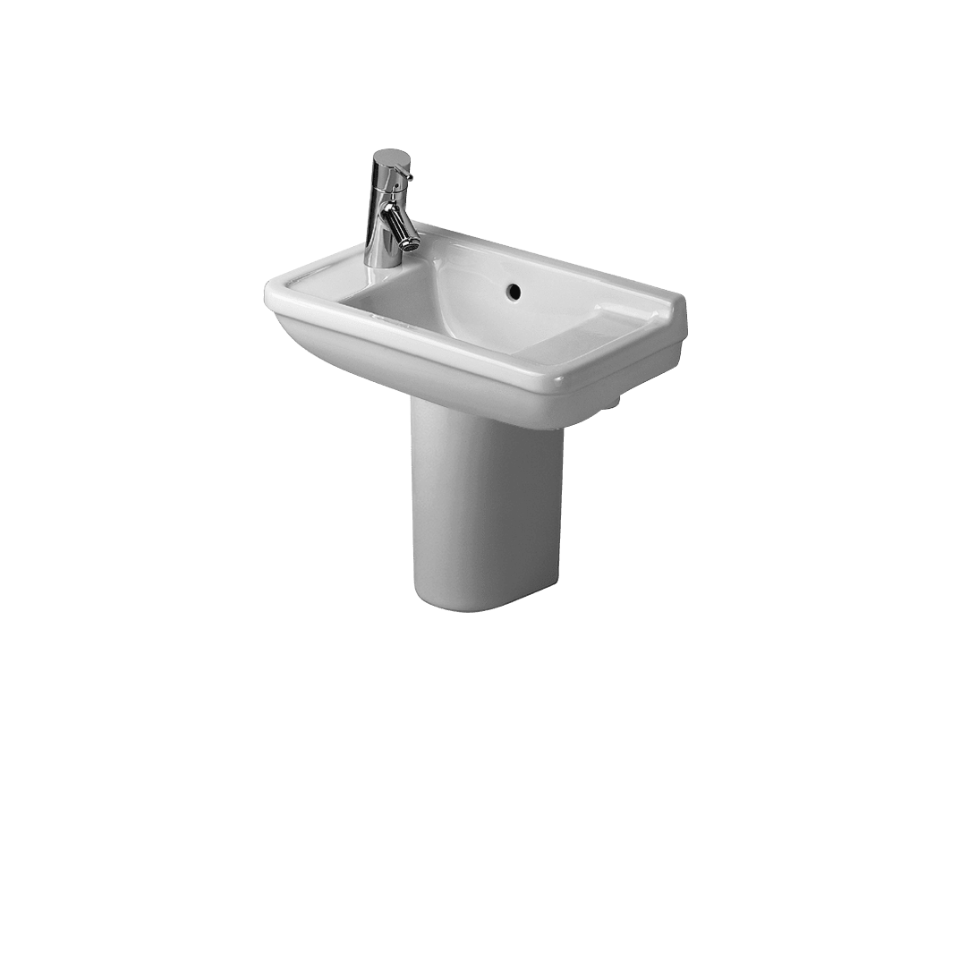 duravit 075150 starck 3 handrinse basin with siphon cover