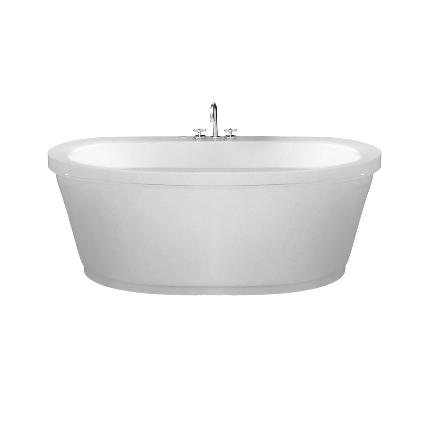 Maax 105359-000 Jazz Freestanding Soaker Tub | QualityBath.com