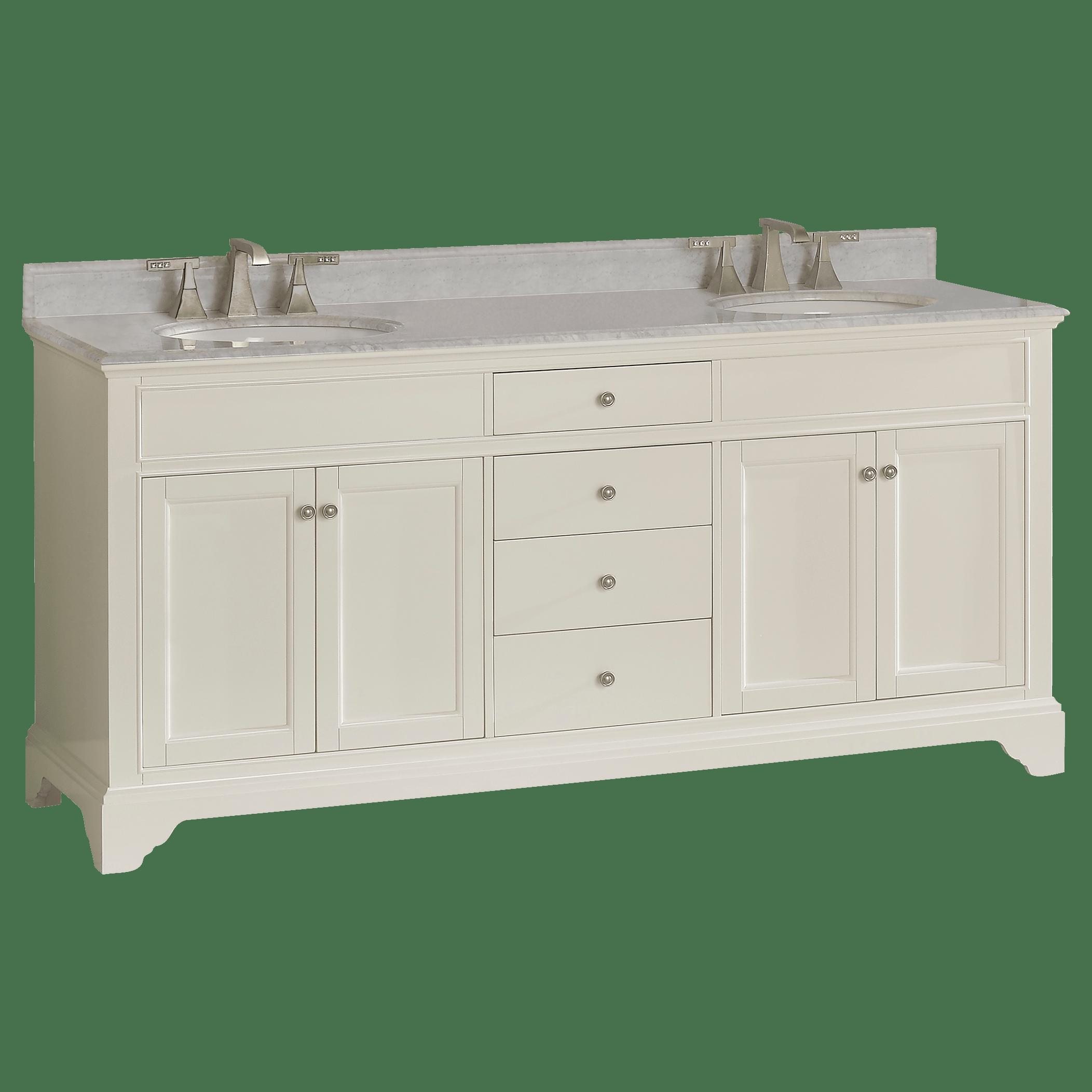 Fairmont Designs 1502-V7221D Framingham Double Vanity   QualityBath.com
