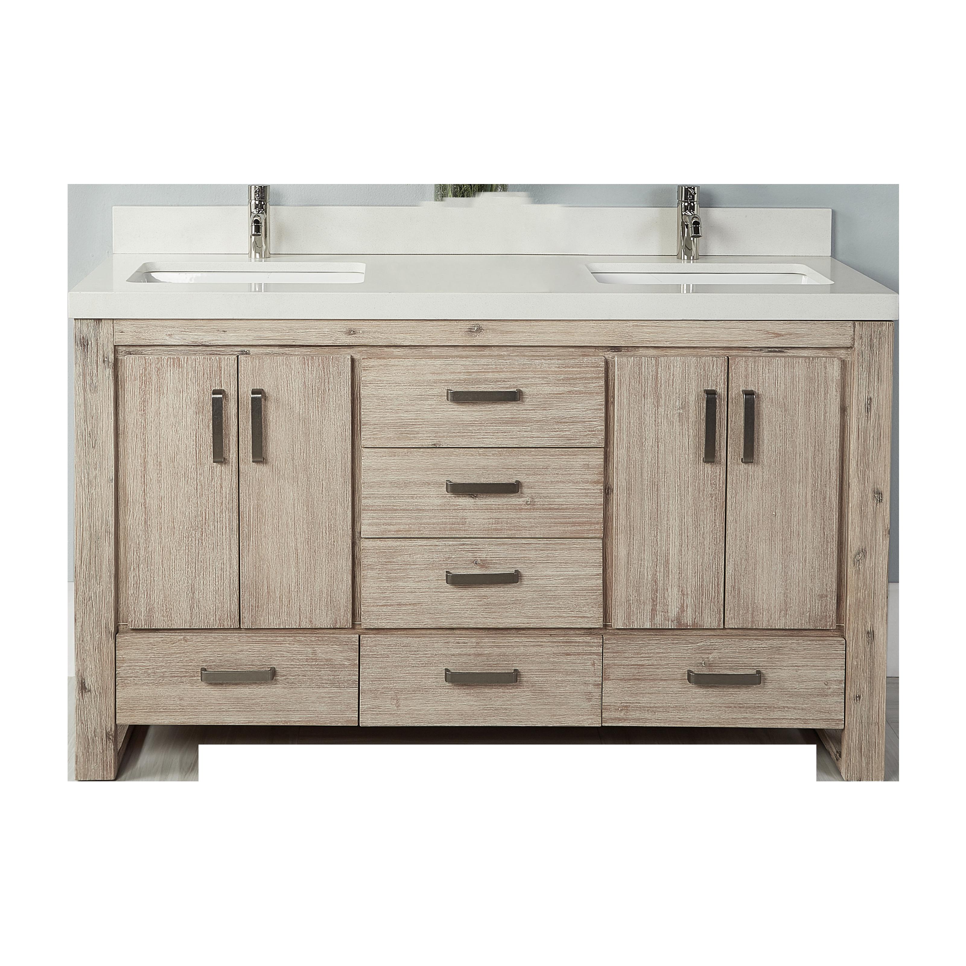 Fairmont Designs 1530-V6021D Oasis Bathroom Vanity | QualityBath.com