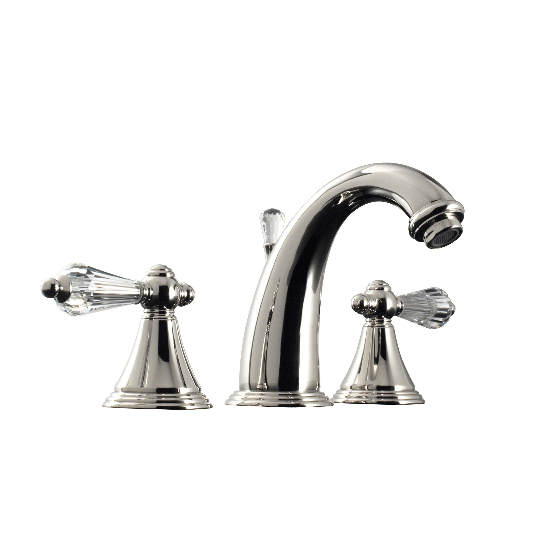 Santec 2220KC10 Kriss Crystal Widespread Lavatory Faucet ...