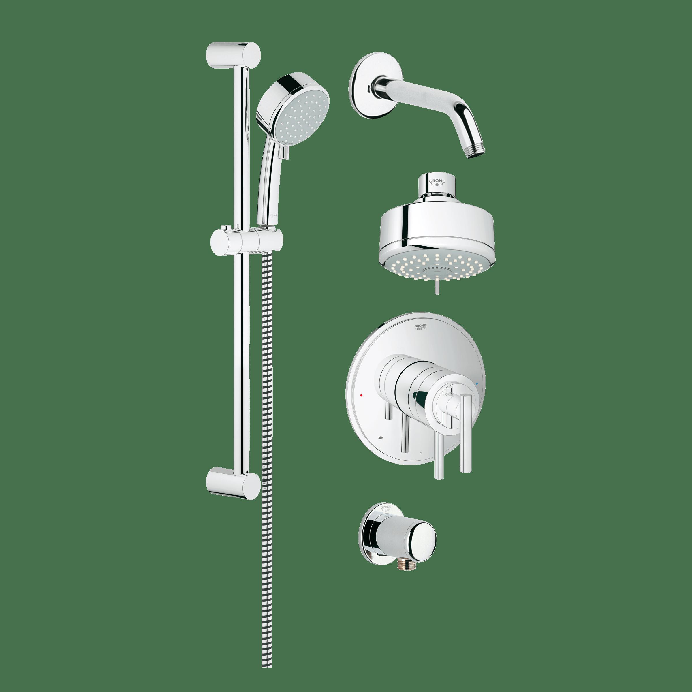 Grohe 35055001 Grohflex Shower Set   QualityBath.com