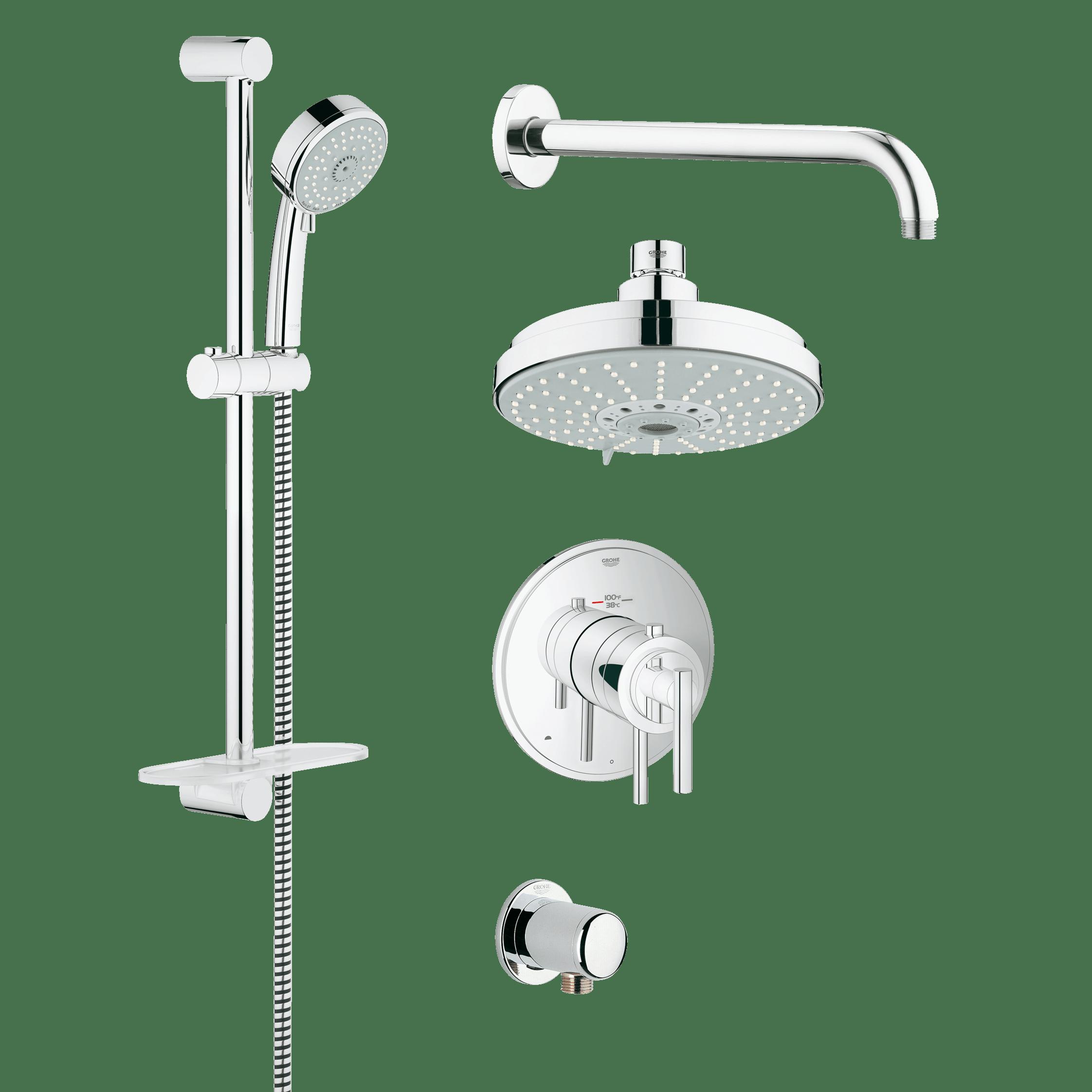 Grohe 35056 Grohflex Shower Set | QualityBath.com