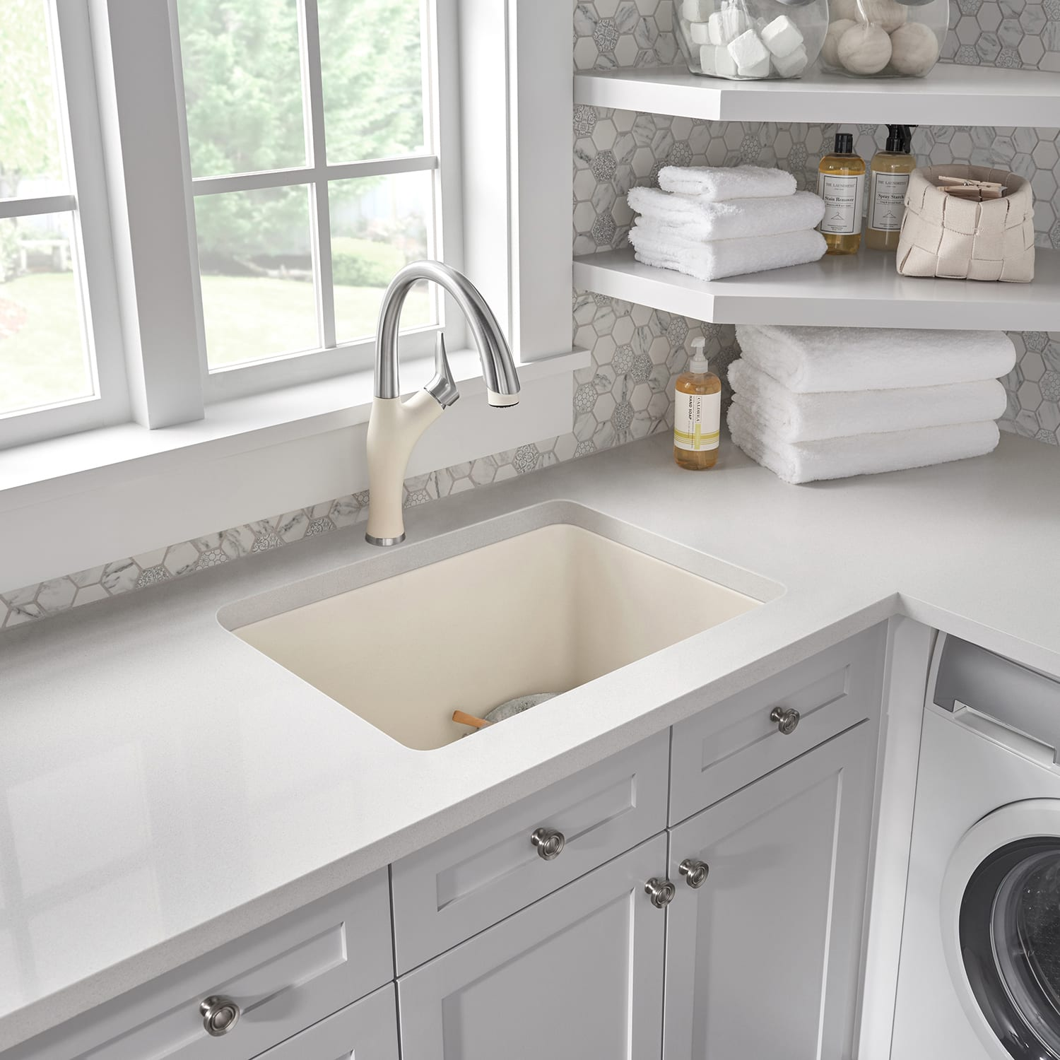 amazing marble countertop sink design and modern faucet.htm blanco 401927 liven 25  laundry sink qualitybath com  blanco 401927 liven 25  laundry sink