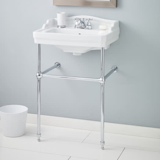 house nrc sink with modern shelf console consoles bathroom decoration