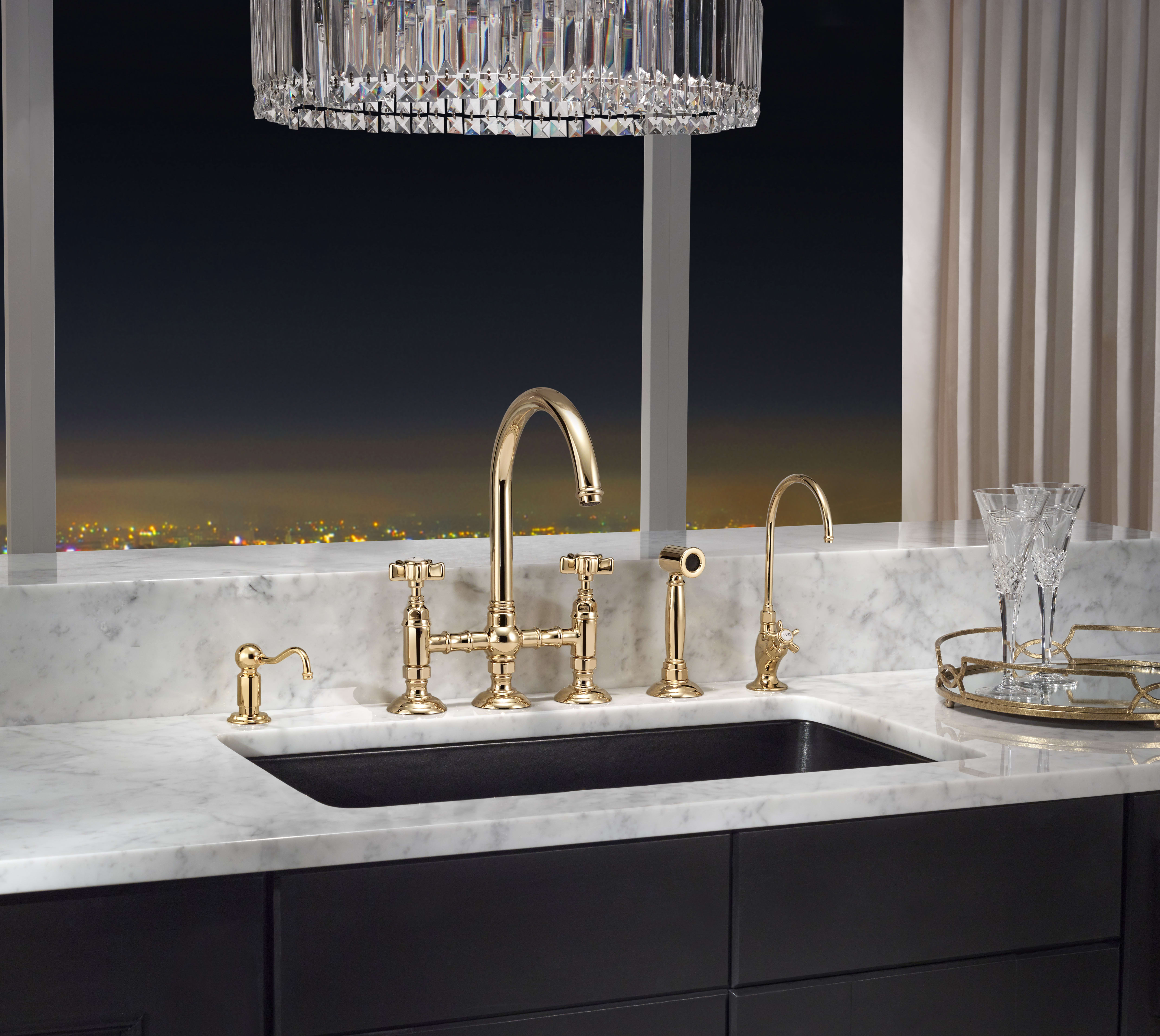 Rohl A1461lpwsib 2 Kitchen Faucets Italian Brass Touch On Kitchen Sink Faucets