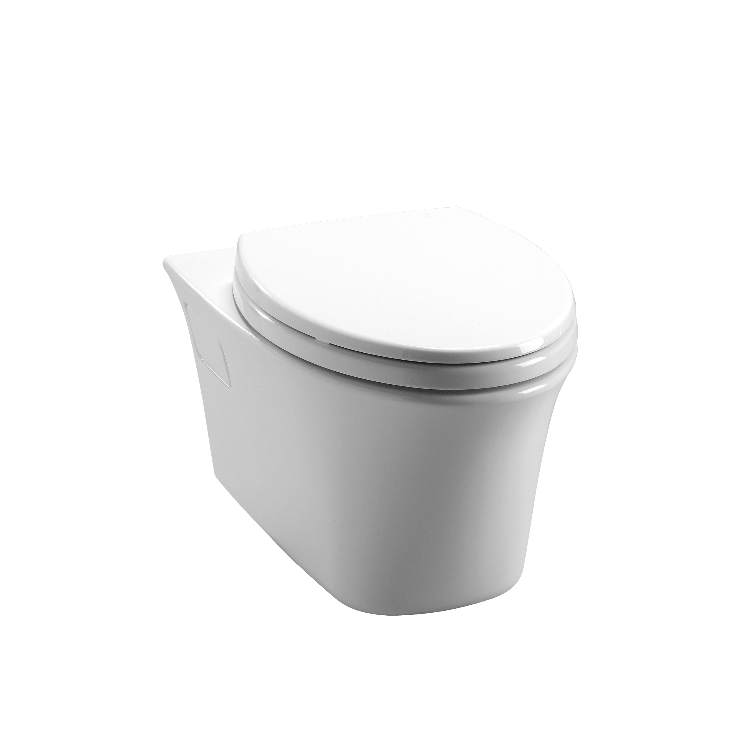 Toto CWT486MFG Maris Wall-hung Toilet And Duofit In-wall Tank System ...