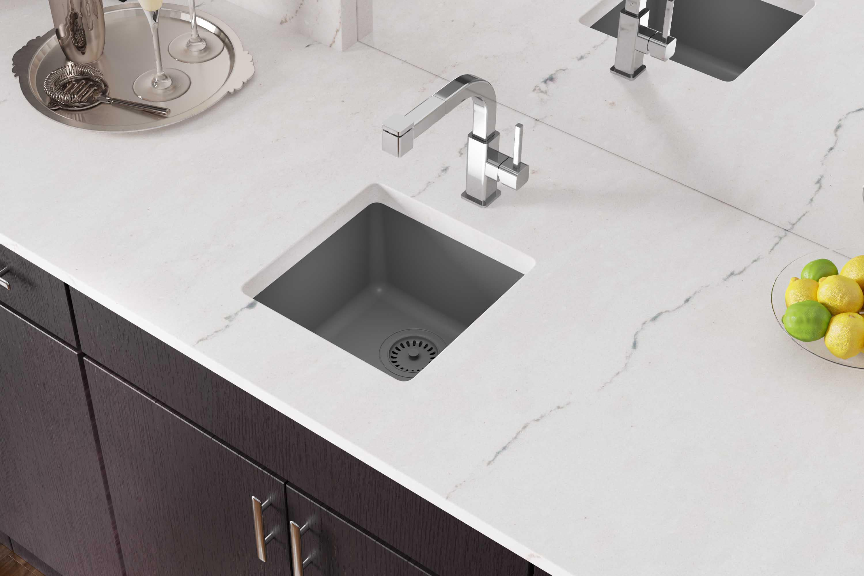 amazing marble countertop sink design and modern faucet.htm elkay elg1616 quartz classic 15 3 4  bar sink qualitybath com  elg1616 quartz classic 15 3 4  bar sink