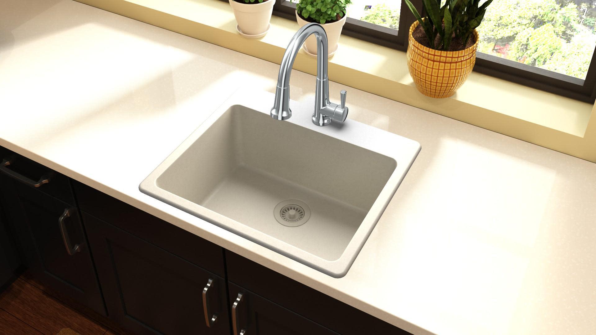 Elkay Elg2522 Quartz Classic 25 Kitchen Sink Qualitybath Com