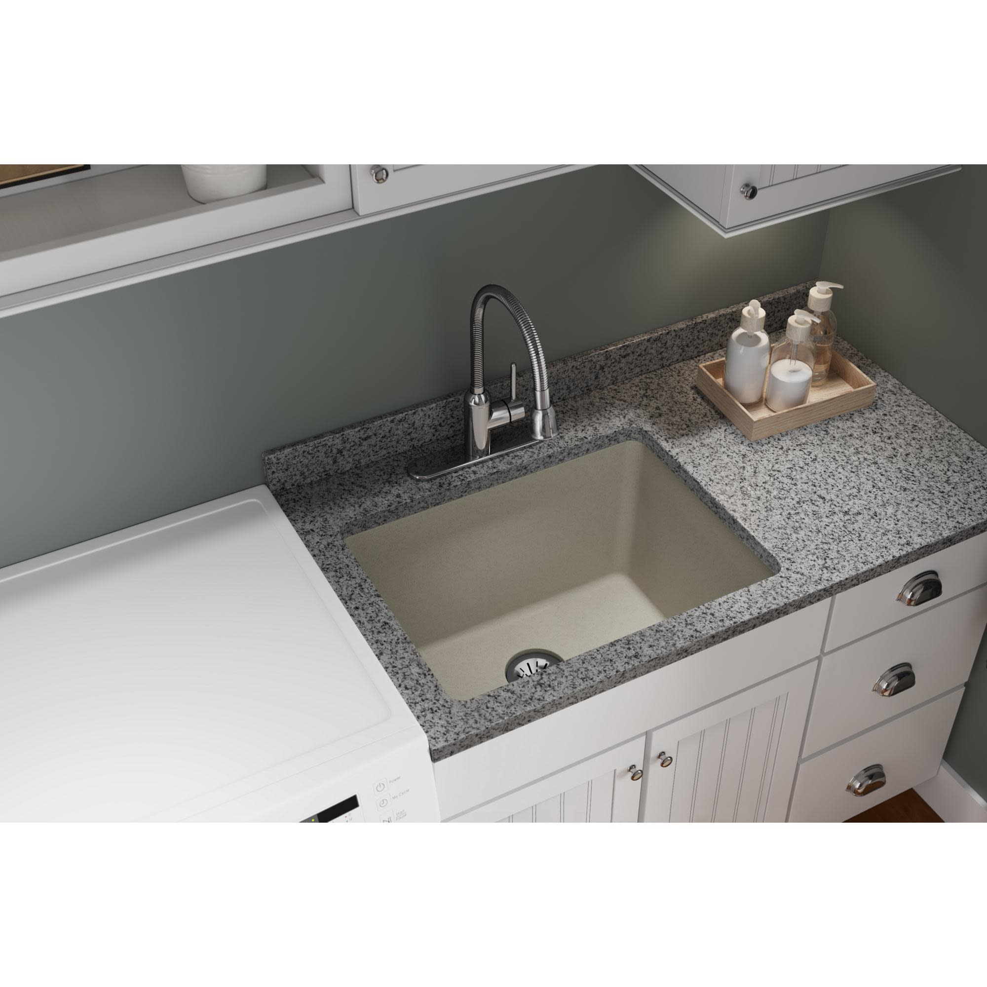 amazing marble countertop sink design and modern faucet.htm elkay elgu251912pd 25  undermount laundry sink qualitybath com  undermount laundry sink