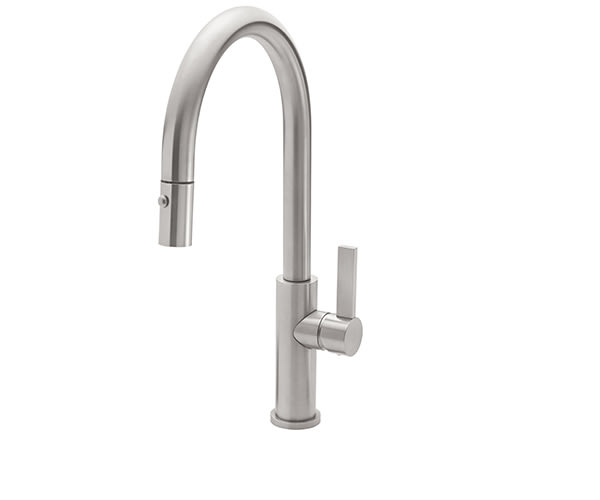California Faucets K51-100 Corsano Pull-down Kitchen Faucet ...