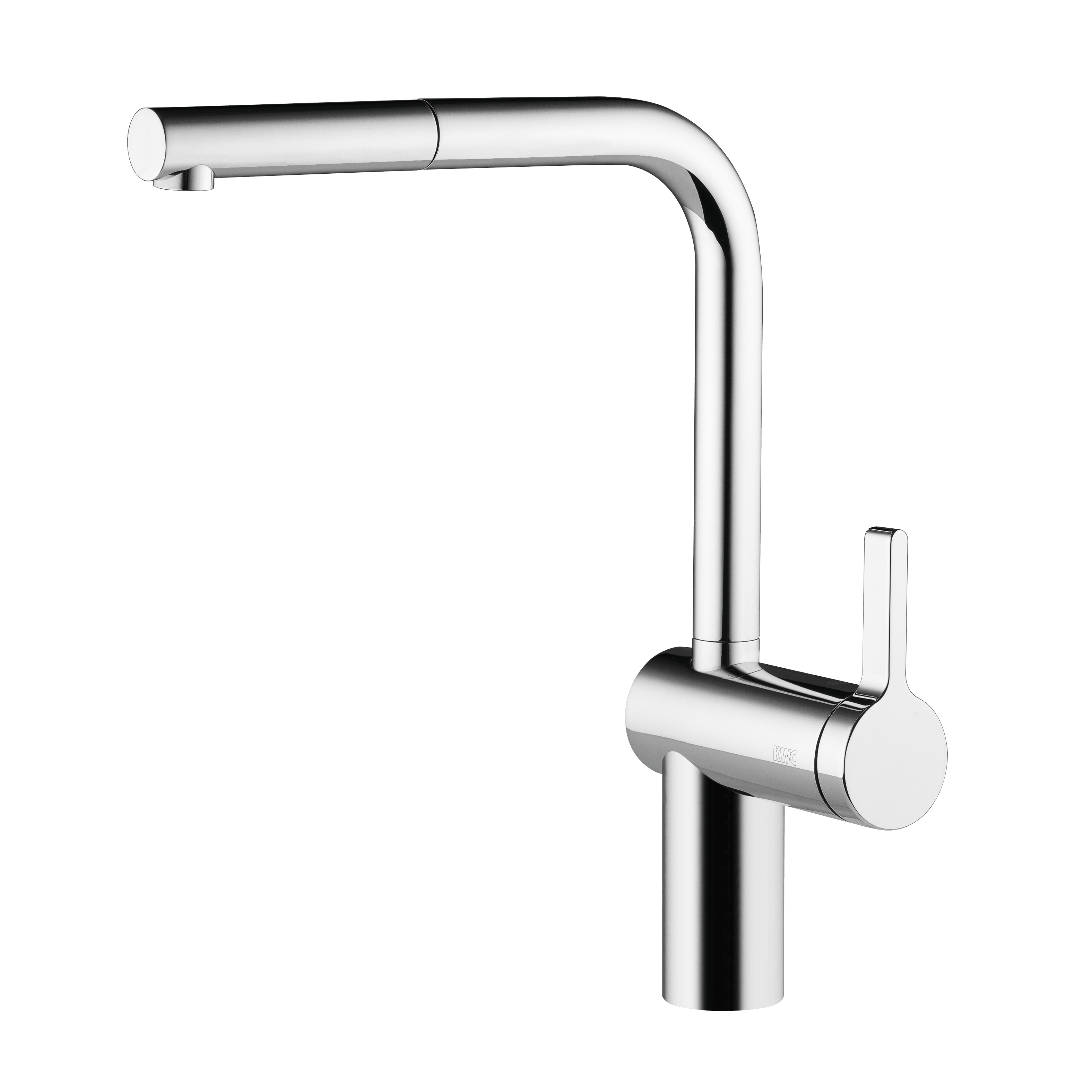 Kwc 10 231 103 Livello Single Lever Mixer With Pull out Spray
