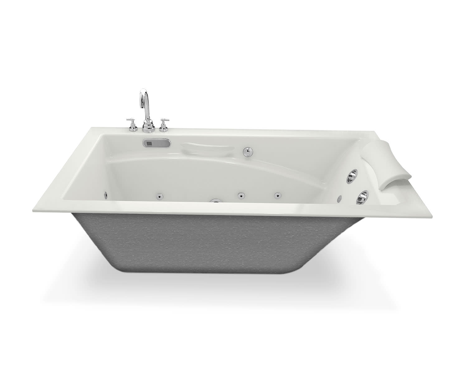 Maax 101265-054 Optik 6032 Hydrofeel Tub | QualityBath.com
