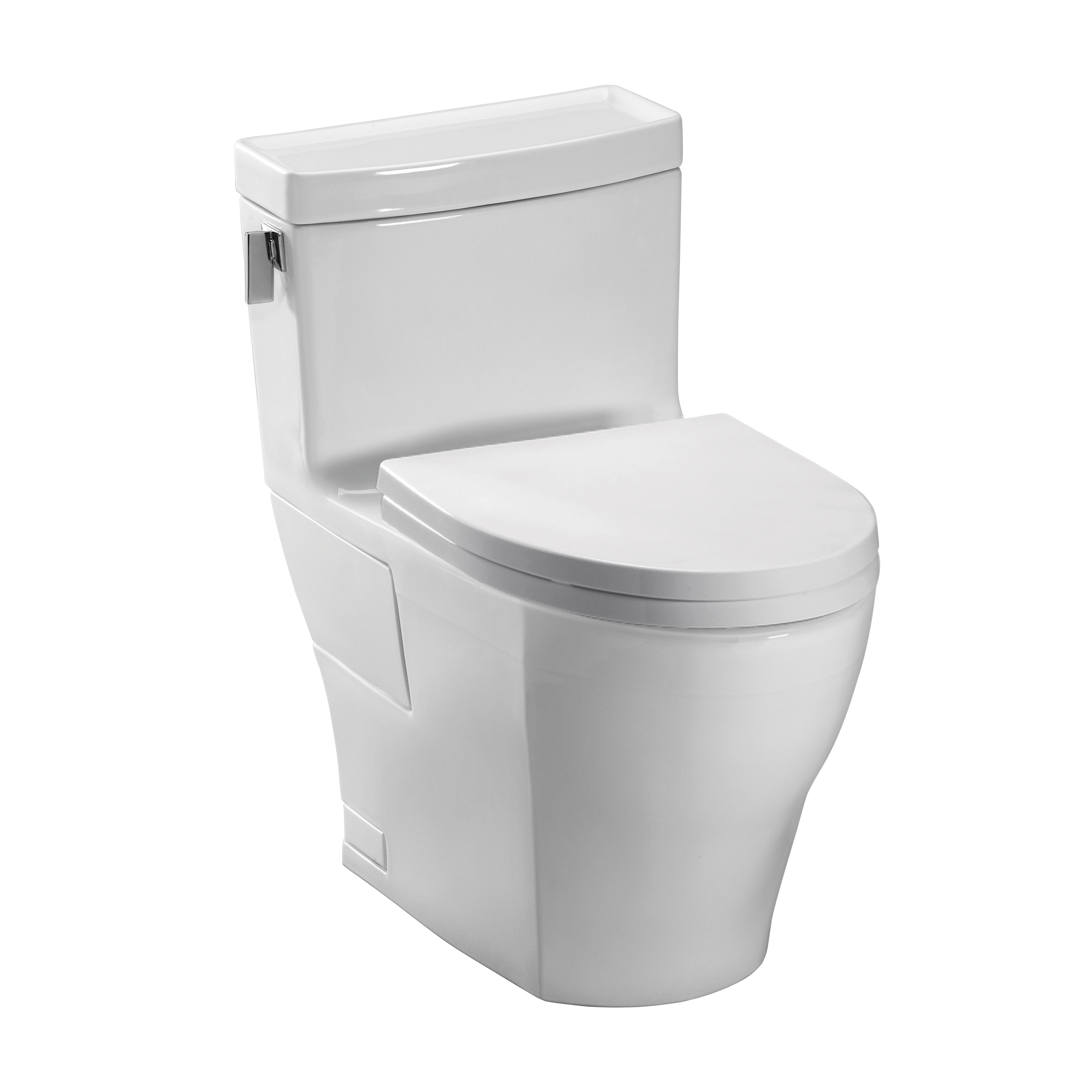 Toto MS624214CEF Legato One-piece High-efficiency Toilet, 1.28gpf ...