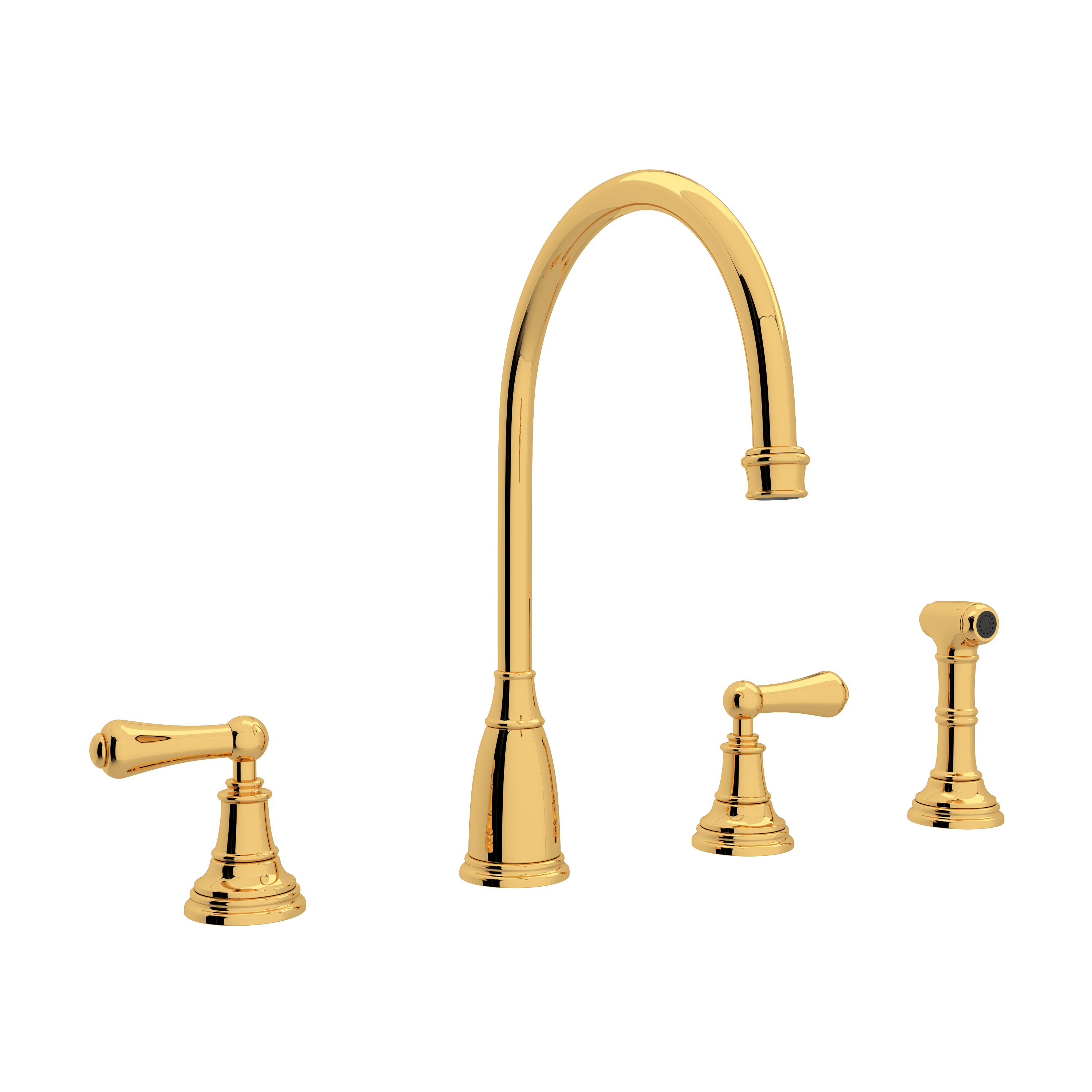 Inca Brass Trumbull Industries Rohl 9.01456H-IB Perrin /& Rowe 3//4 Crosstop Handle Only with Hot Indicator