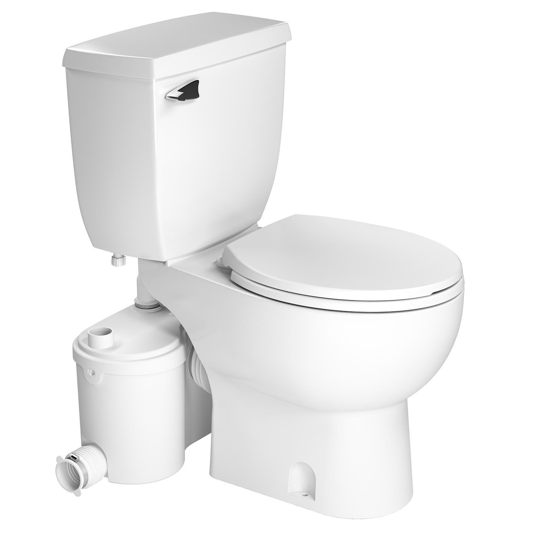 Saniflo SaniBest Sanibest Pro Toilet With Grinder Series Pump ...