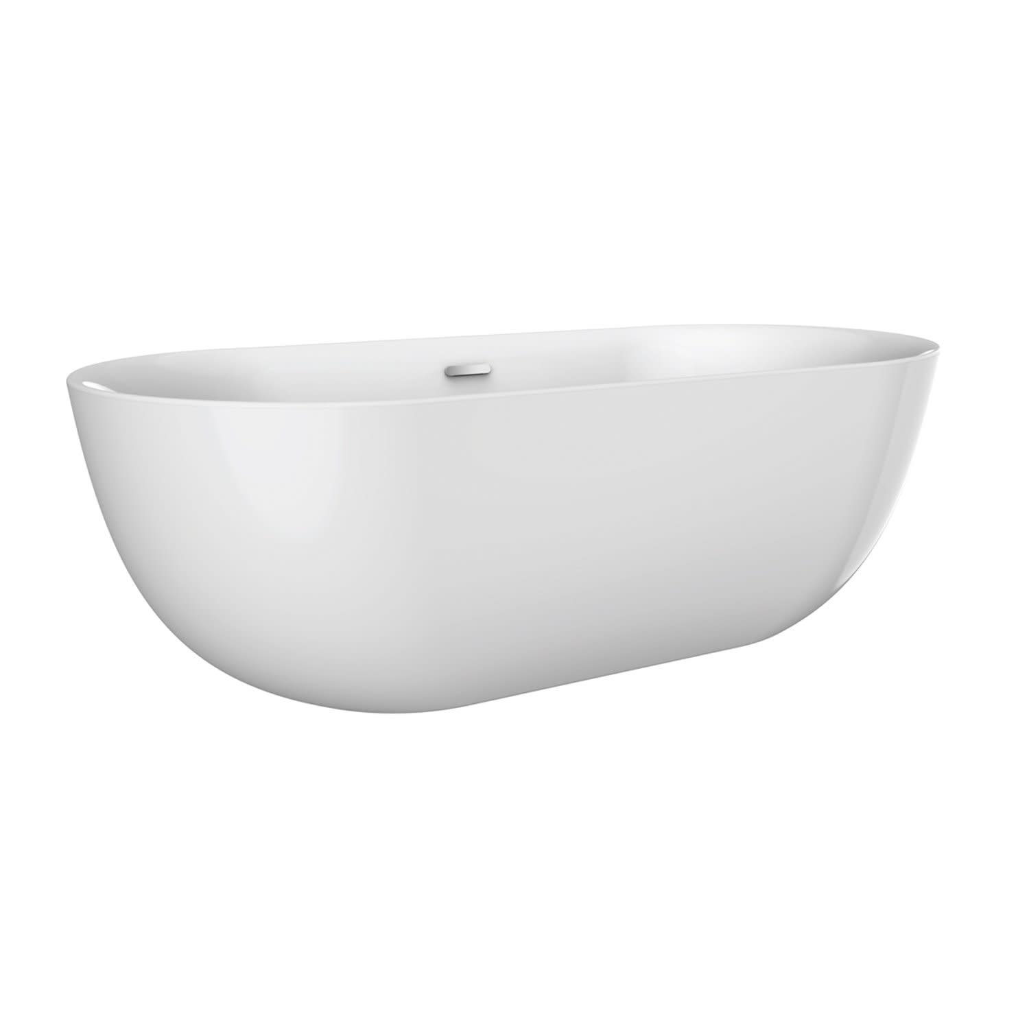 Barclay Atovn59kig Paige Freestanding Soaker Tub With Integral Drain Qualitybath Com