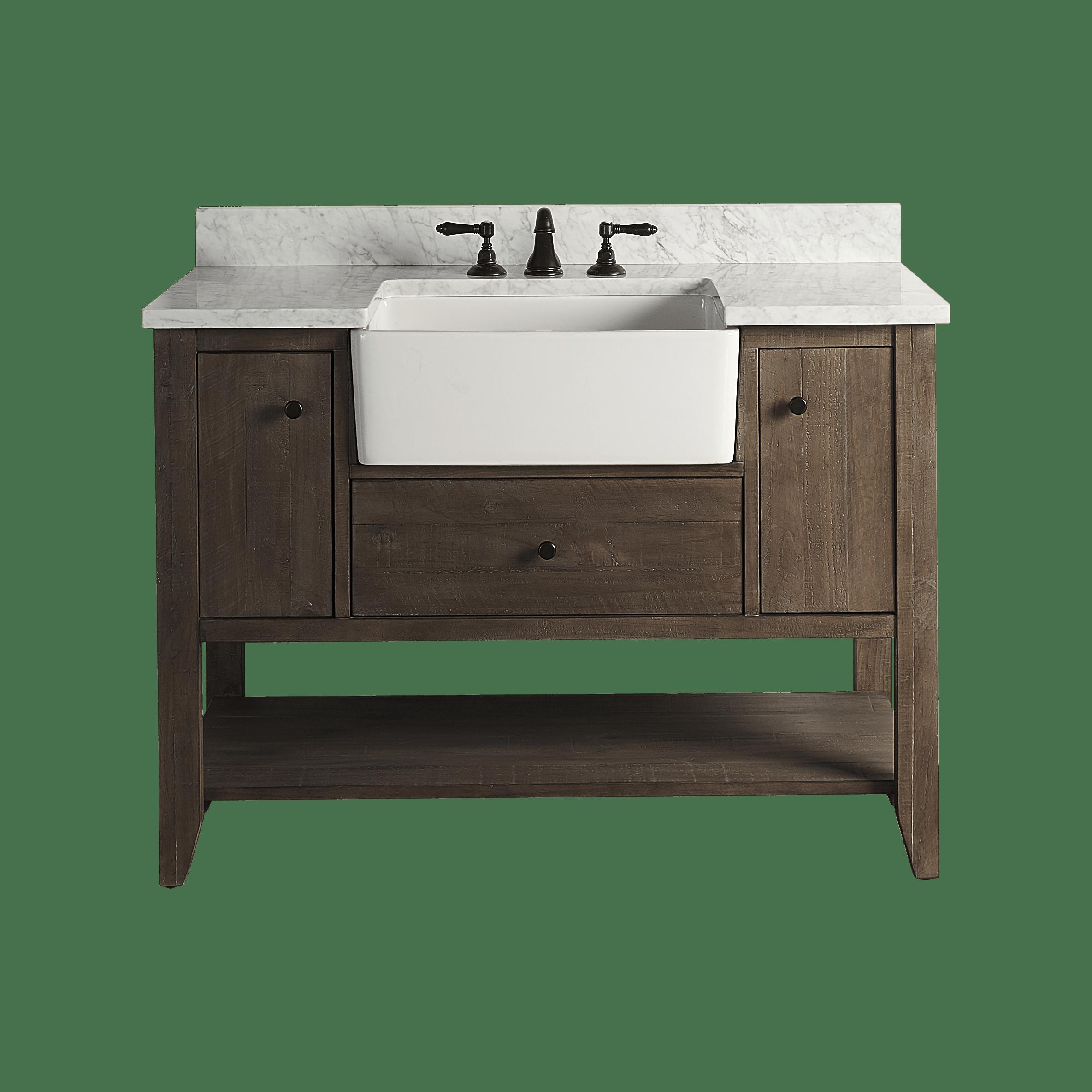 Fairmont Designs 1516 Fv48 River View 48 Bathroom Vanity Qualitybath Com