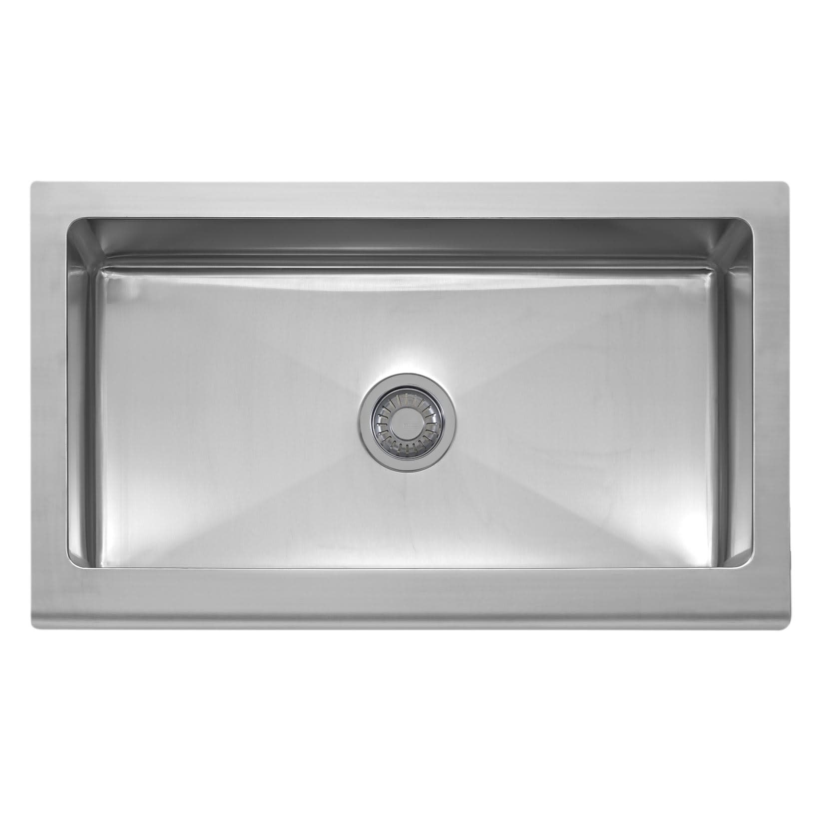 Franke Mhx710 36 Manor House 36 Single Bowl Kitchen Sink With Apron Front Qualitybath Com