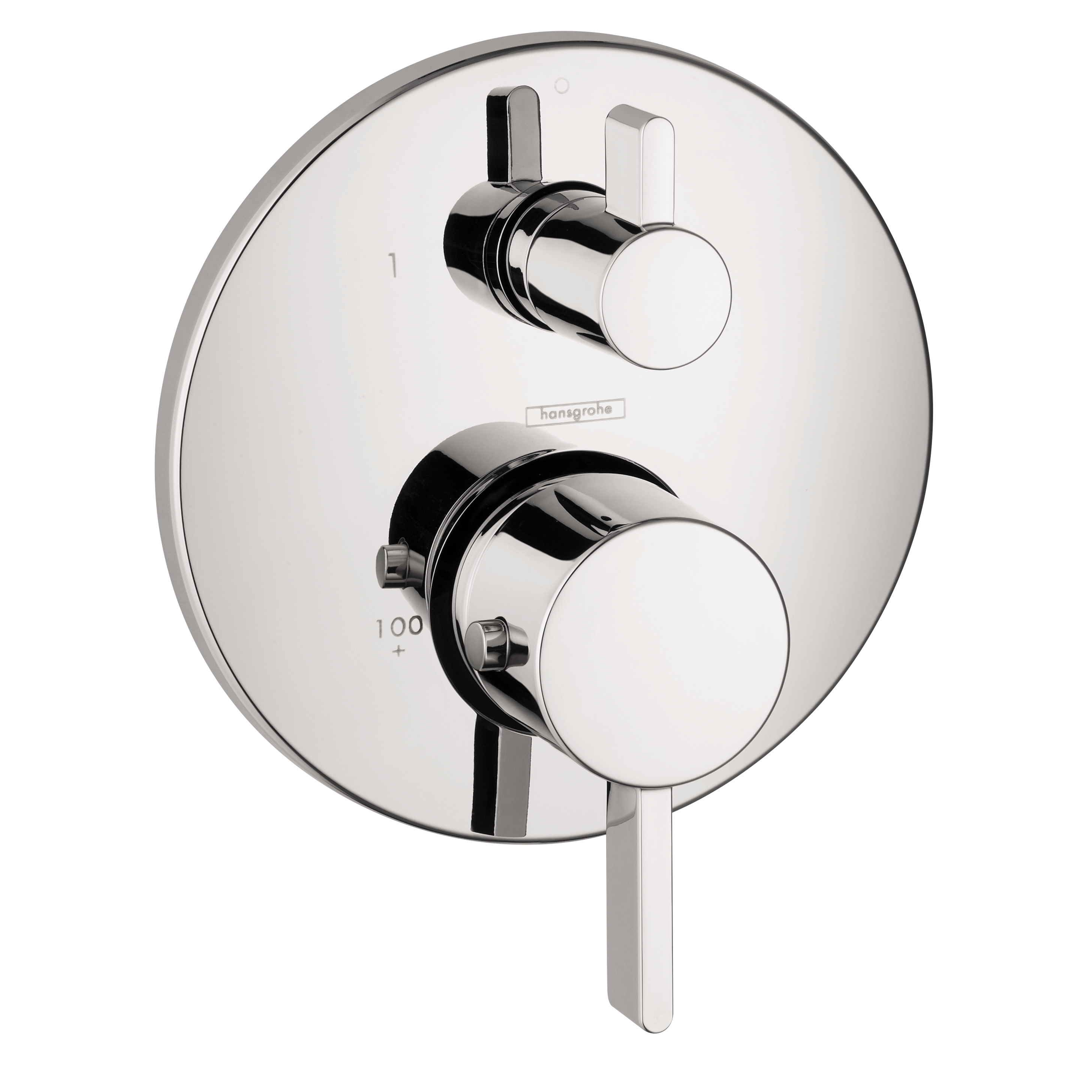 Hansgrohe 04231000 Thermostatic Trim W/volume Control And Diverter ...