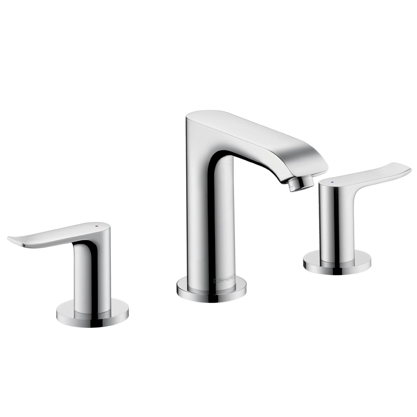 Hansgrohe 31083 Metris E Widespread Faucet | QualityBath.com