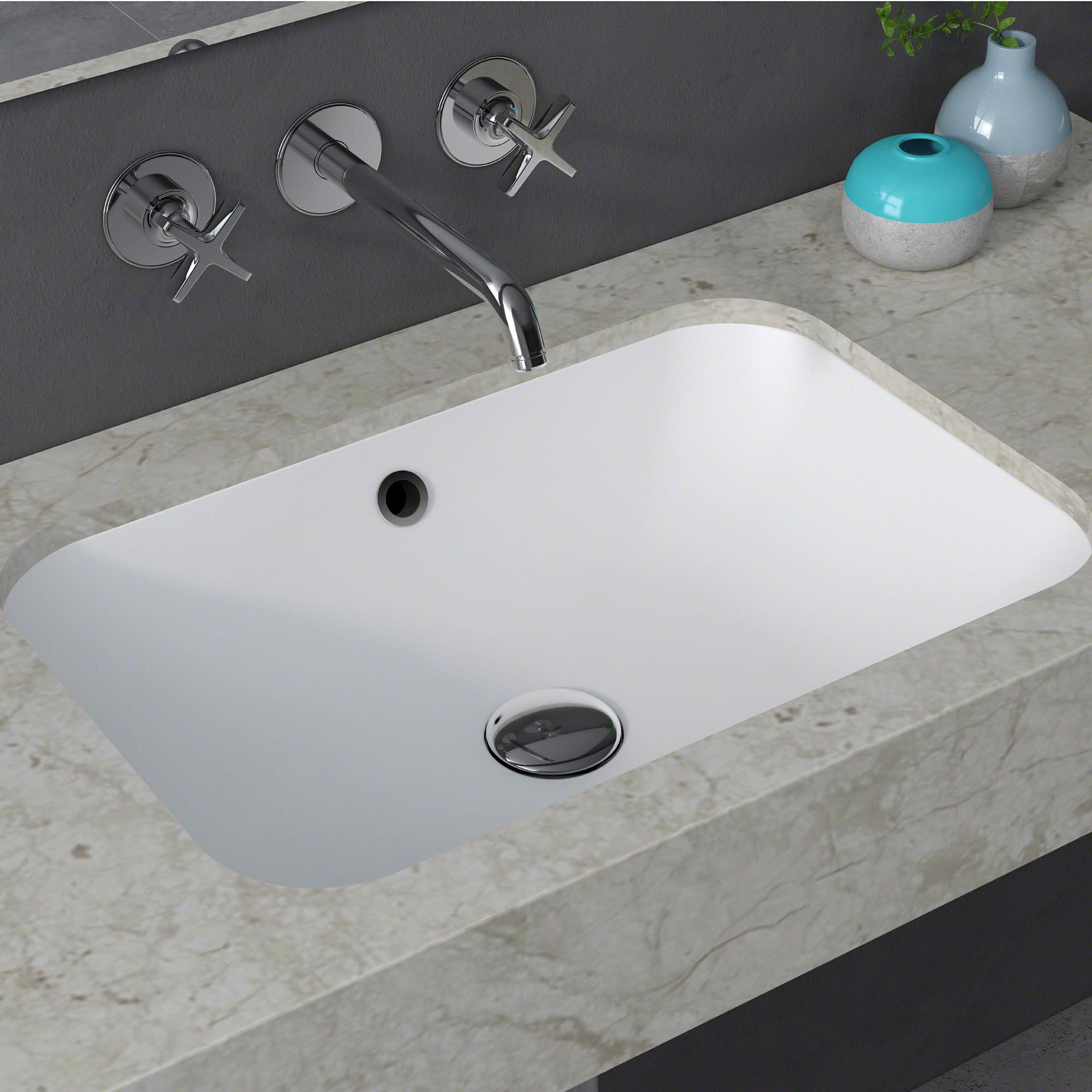 amazing marble countertop sink design and modern faucet.htm kraus ksu 8mw natura rectangle undermount composite bathroom sink  kraus ksu 8mw natura rectangle
